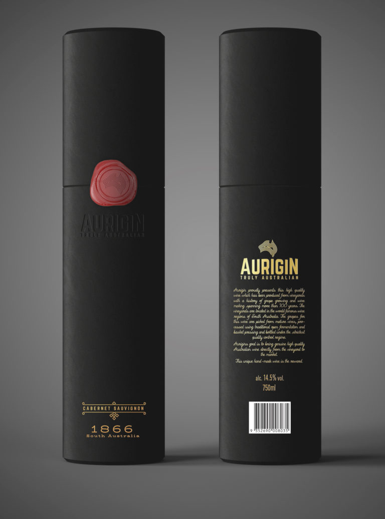 Aurigin Wine package CabSauvignon copy